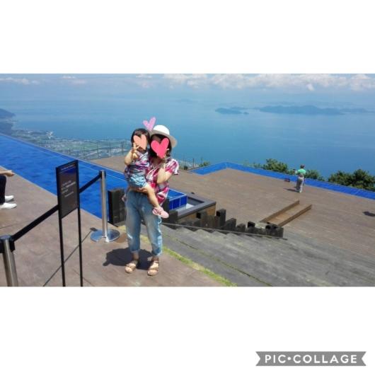 琵琶湖テラス琵琶湖バレイからの涼しげな景色