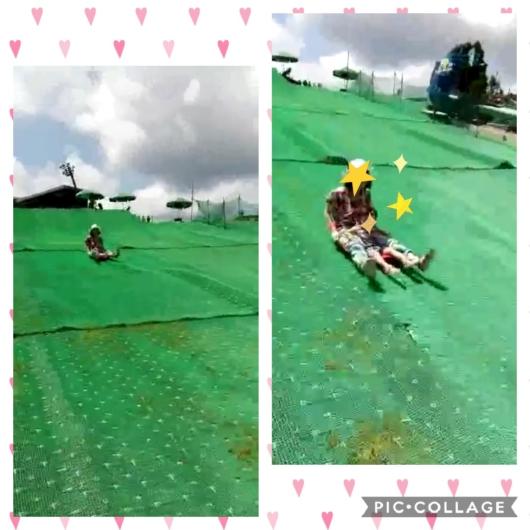 琵琶湖バレイそり遊び