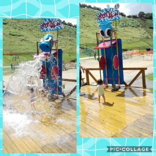 琵琶湖テラス琵琶湖バレイ水遊びバッシャーン