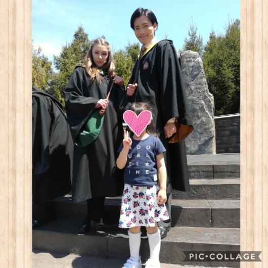 子連れ旅行USJユニバハリー・ポッターワンド・スタディ
