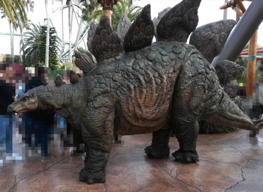 子連れ旅行USJユニバジュラシックパーク動く恐竜