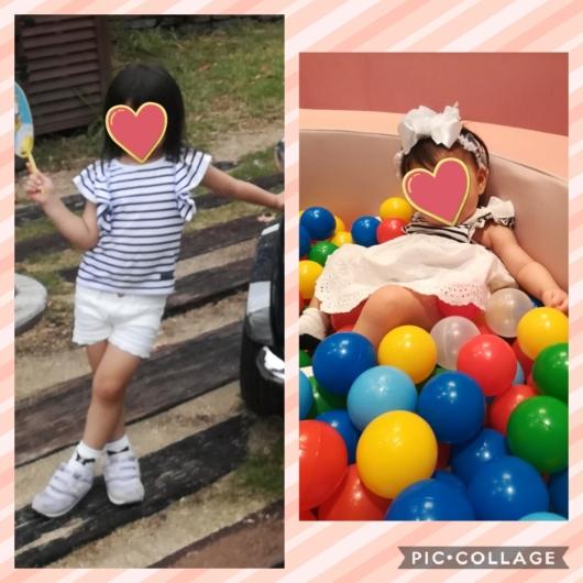 二人目出産祝いお揃いコーデ服petitmainプティマイン0歳3歳