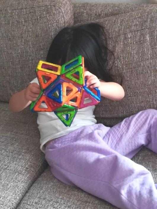 マグフォーマー3歳4歳立体