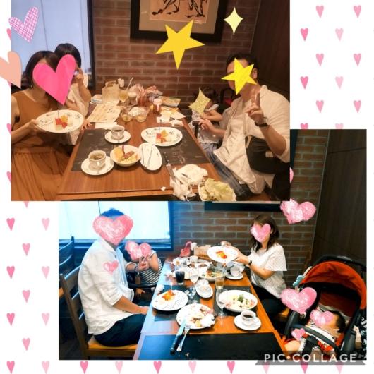 子連れ外食バルバッコア梅田店ランチバースデー特典記念写真撮影