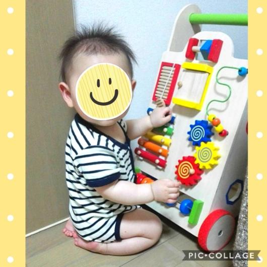 0歳向け知育玩具エド・インターよちよちベビーウォーカー8ヶ月