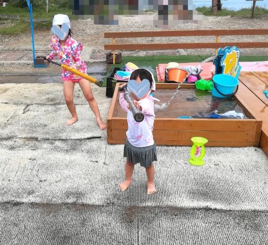 子連れ旅行びわ湖バレイ水遊び