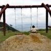 子連れ旅行びわ湖バレイ無料遊具琵琶湖を望むブランコ