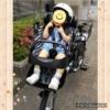 子供乗せ電動アシスト自転車デビュー1歳7ヶ月パナソニックギュットミニ