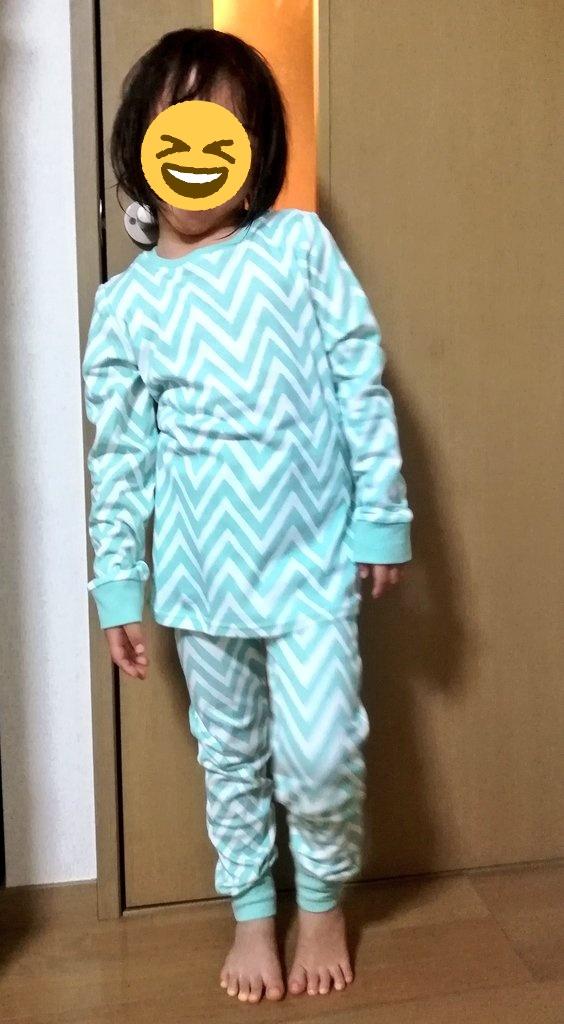 nextパジャマサイズ感5歳116-120cm