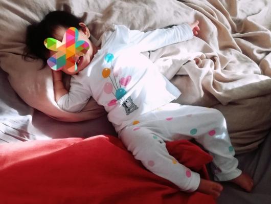 H&Mパジャマ70cmセパレート