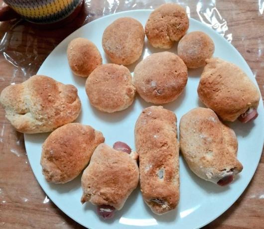 ホットケーキミックスでパン作り