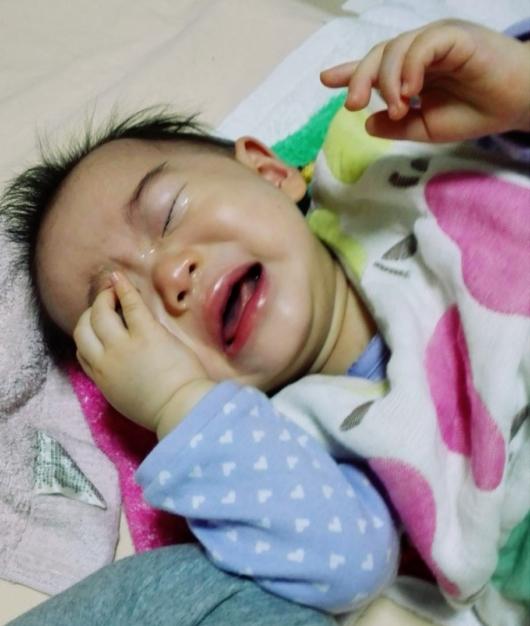 赤ちゃん夜泣き11ヶ月夜間断乳ギャン泣き