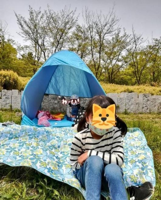 ポップアップテントワンタッチ設置ピクニック海プール