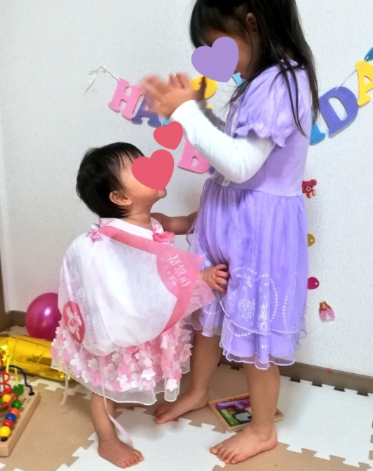 一升餅不織布風呂敷1歳バースデー誕生日祝い方