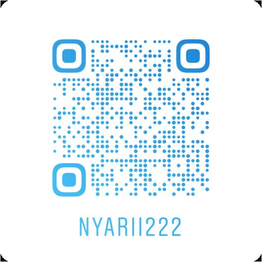 nyarii222インスタQRコード