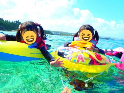 子連れ旅行沖縄2歳5歳真栄田岬