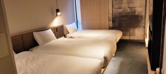 子連れで泊まってよかったホテルホテルリソルトリニティ大阪2020年オープンおしゃれキレイ部屋スーペリアトリプル